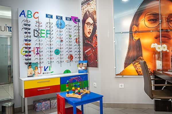 Zona Infantil Óptica Ocularium Cádiz